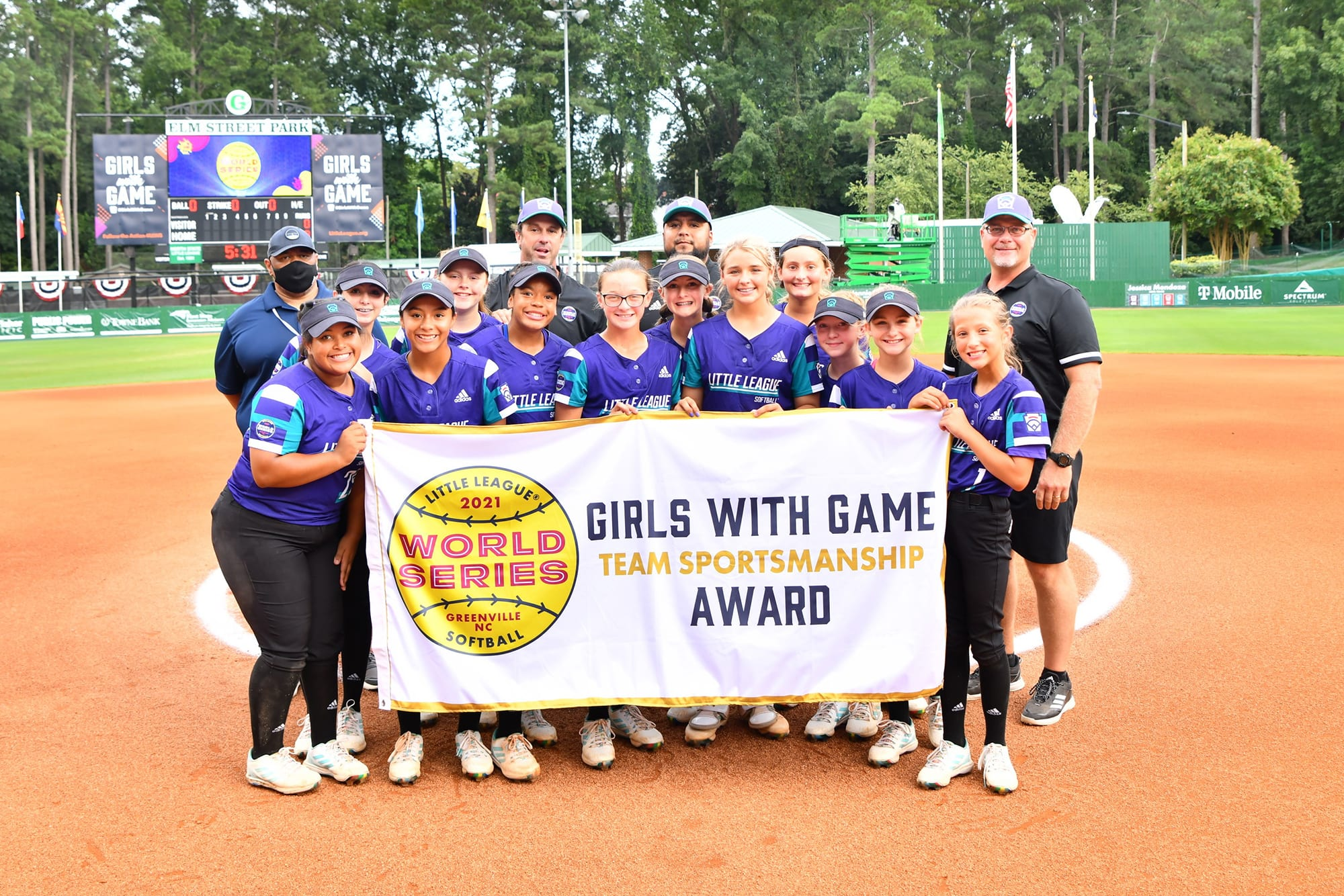 Girls with Game Team Sportsmanship Award
