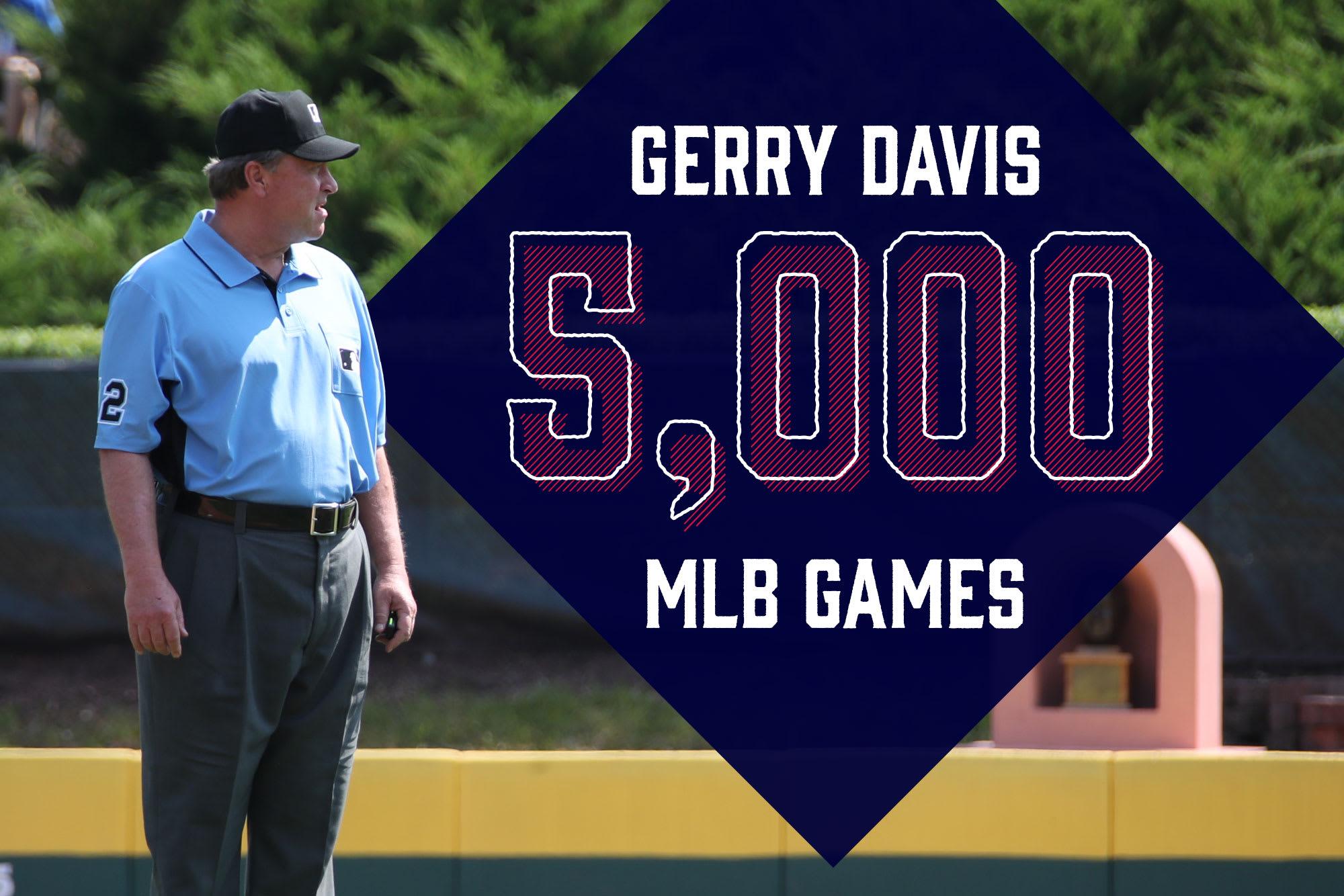 Gerry Davis 5,000 Games